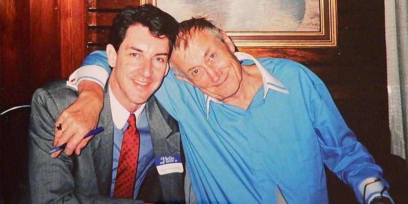 With Yevgeny Yevtushenko 1999.jpg 1999