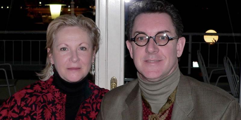 Vienna Opera House with Karen 2005