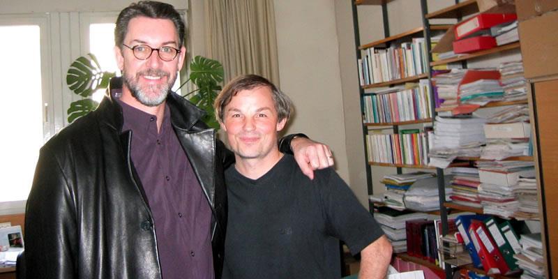 With Wolfgang Gortschacher University Salzburg 2006