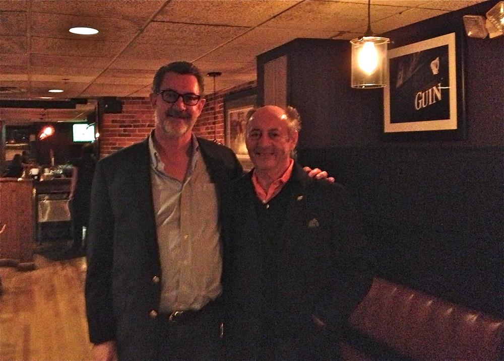 With Billy Collins 2014