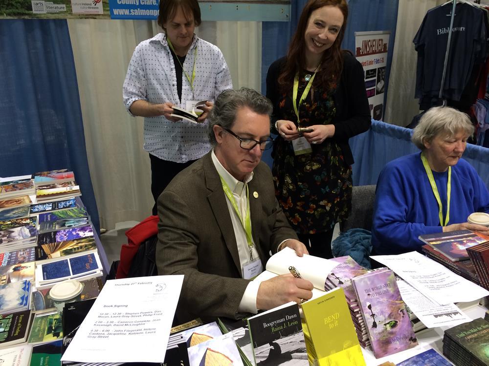 AWP Seattle with Publisher Jessie Lendennie